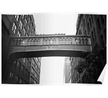 Chelsea Market Skybridge - New York City Poster