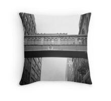 Chelsea Market Skybridge - New York City Throw Pillow