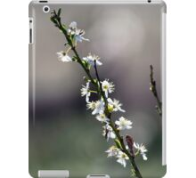 White Blossoms iPad Case/Skin