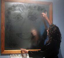 self portrait in steam by Sherie Howard
