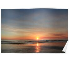 cable beach sunset august 2011 Poster