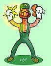 Luigi Lunacy by edbot5000