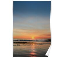 cable beach sunset, broome Poster