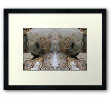 Buddha's Cave Framed Print