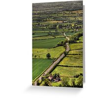 Road Of Thousand Dreams Greeting Card