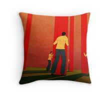 About Them Throw Pillow