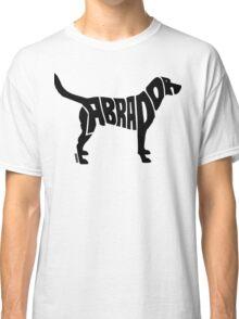 Labrador Black Classic T-Shirt