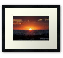 WEE HOURS Framed Print