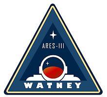 Ares 3 - Watney emblem by steve bruke