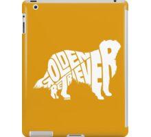 Golden Retriever White iPad Case/Skin