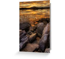 Rocky Finish Greeting Card