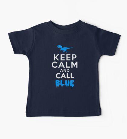 Keep Calm and Call Blue | Raptor Baby Tee