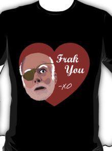 Colonel Tigh Valentine T-Shirt