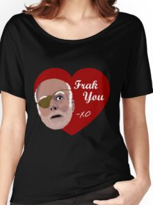 Colonel Tigh Valentine Women's Relaxed Fit T-Shirt