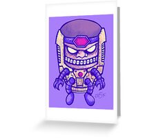 MODOK Greeting Card