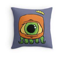 Lil' monster  Throw Pillow
