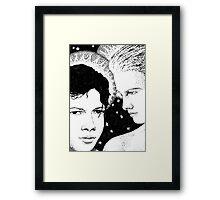 Virgin and Child Framed Print