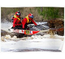 Power boat 105 Poster
