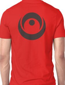 Spiky Circle Symbol Unisex T-Shirt