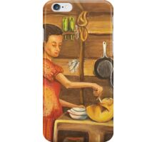 El Almuerzo / Preparing Lunch iPhone Case/Skin