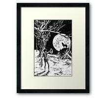 The Wolves Are Running Framed Print