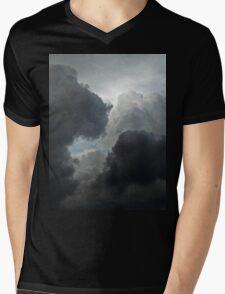 August Clouds Mens V-Neck T-Shirt
