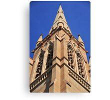 Church Tower Spire Canvas Print
