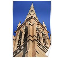 Church Tower Spire Poster