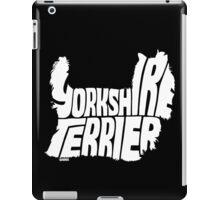 Yorkshire Terrier White iPad Case/Skin