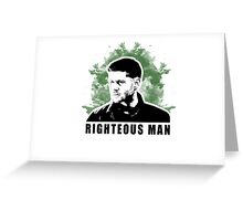 Righteous Man  Greeting Card
