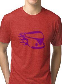 Purple van Tri-blend T-Shirt