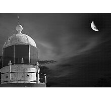 Moonlit tower Photographic Print