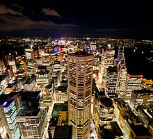 Sydney Lights by baddoggy