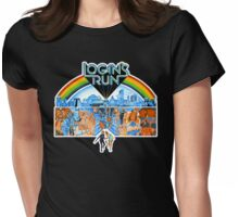 Logan's Run Womens Fitted T-Shirt