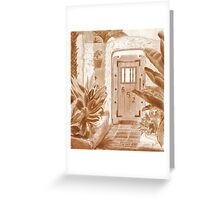 Gate to 652 Greeting Card