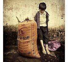 I'm NOT carrying that ... #0101 Photographic Print