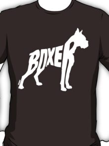 Boxer White T-Shirt