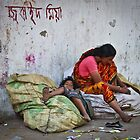 one man's footpath another man's home by Tashique Alam