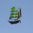 Bali kite by Cathie Brooker