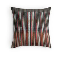 loom in abstract Throw Pillow