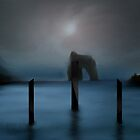 Future Scenes III-Dark Blades by Ibrar Yunus
