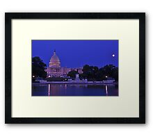 United States Capitol - Washington, DC Framed Print