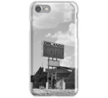 The former Orlando Motel, Route 66, Arizona iPhone Case/Skin