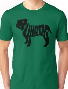 Bulldog Black Unisex T-Shirt