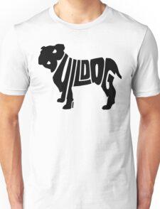 Bulldog Black Unisex T-Shirt