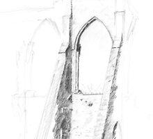 Bayham Abbey, Kent by Barnaby Edwards