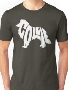 Collie White Unisex T-Shirt