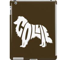 Collie White iPad Case/Skin