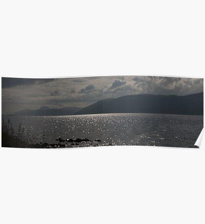 Loch Ness Panoramic - Best Viewed LARGE Poster