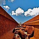 Railroad Blues by foto1111